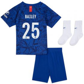 Chelsea Home Cup Stadium Kit 2019-20 - Infants with Bailey 25 printing