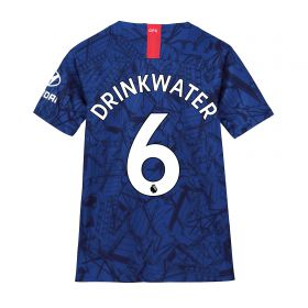 Chelsea Home Stadium Shirt 2019-20 - Kids with Drinkwater 6 printing