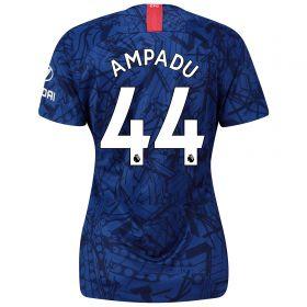 Chelsea Home Stadium Shirt 2019-20 - Womens with Ampadu 44 printing
