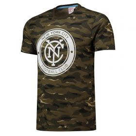 New York City FC Camo T-Shirt - Khaki - Mens