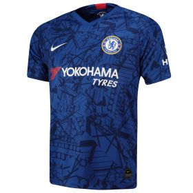 Chelsea Home Stadium Shirt 2019-20 with David Luiz 30 printing
