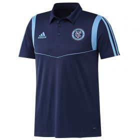 New York City FC Coaches Polo - Navy