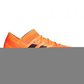 adidas Nemeziz 18.1 Firm Ground Football Boots - Orange- Kids