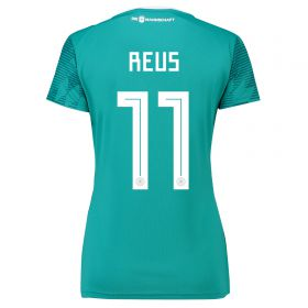 Germany Away Shirt 2018 - Womens with Reus 11 printing