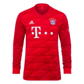 Bayern Munich Home Long Sleeve Shirt 2019-20