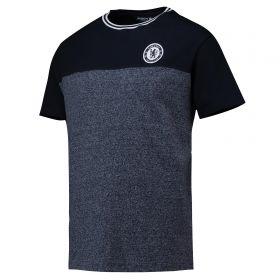 Chelsea Classics Contrast T-Shirt - Total Eclipse/Denim Marl - Mens