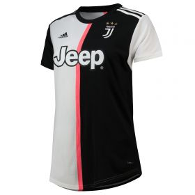 Juventus Home Shirt 2019-20 - Womens with Ronaldo 7 printing