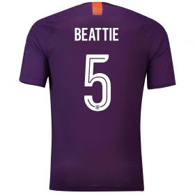 Manchester City Third Cup Vapor Match Shirt 2018-19 with Beattie 5 printing