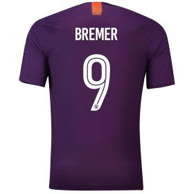 Manchester City Third Cup Vapor Match Shirt 2018-19 with Bremer 9 printing