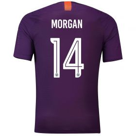 Manchester City Third Cup Vapor Match Shirt 2018-19 with Morgan 14 printing