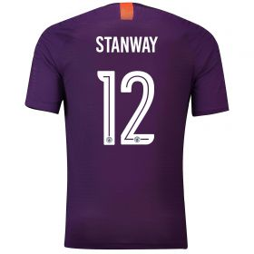 Manchester City Third Cup Vapor Match Shirt 2018-19 with Stanway 12 printing