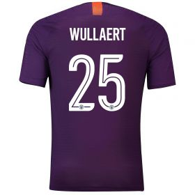 Manchester City Third Cup Vapor Match Shirt 2018-19 with Wullaert 25 printing