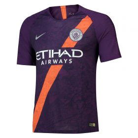 Manchester City Third Vapor Match Shirt 2018-19 with Delph 18 printing