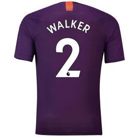 Manchester City Third Vapor Match Shirt 2018-19 with Walker 2 printing