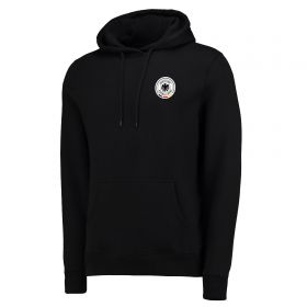 DFB Small Crest Hoodie - Black - Mens