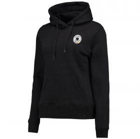 DFB Small Crest Hoodie - Black - Womens