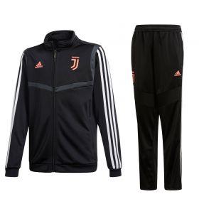 Juventus Presentation Suit - Black - Kids