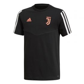Juventus Training Tee - Black - Kids