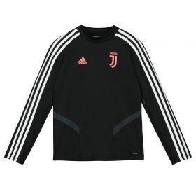 Juventus Training Top - Black - Kids