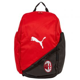 AC Milan Liga Back Pack - Red - Black