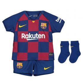 Barcelona Home Stadium Kit 2019-20 - Infants with Suárez 9 printing