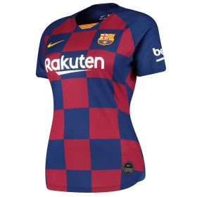 Barcelona Home Stadium Shirt 2019-20 - Womens with Piqué 3 printing