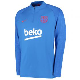 Barcelona Strike Training Drill Top - Blue