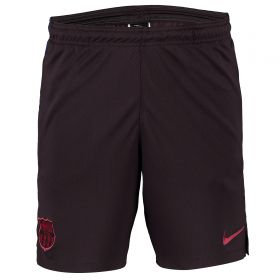 Barcelona Strike Training Shorts - Red