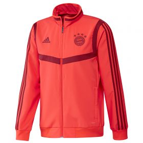 Bayern Munich Pre Match Jacket - Red