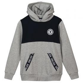 Chelsea Branded Tape Hoody - Grey - Infant Boys