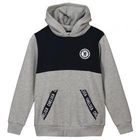 Chelsea Branded Tape Hoody - Grey - Older Boys
