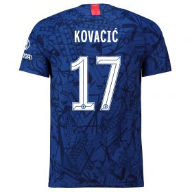 Chelsea Home Cup Vapor Match Shirt 2019-20 with Kovacic 17 printing