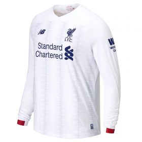 Liverpool Away Shirt 2019-20 - Long Sleeve with Firmino 9 printing