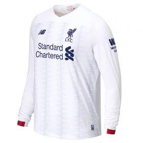 Liverpool Away Shirt 2019-20 - Long Sleeve with Virgil 4 printing