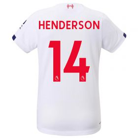 Liverpool Away Shirt 2019-20 - Womens with Henderson 14 printing