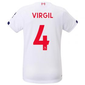 Liverpool Away Shirt 2019-20 - Womens with Virgil 4 printing