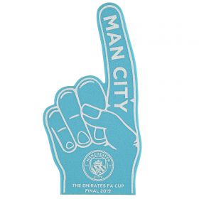 Manchester City FA Cup Final 2019 Foam Hand