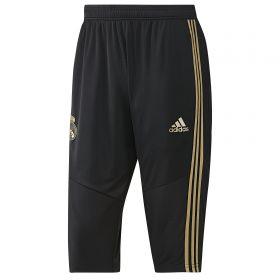 Real Madrid 3/4 Training Pant - Black