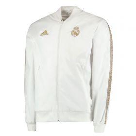 Real Madrid Anthem Jacket - White