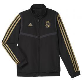 Real Madrid Presentation Jacket - Black - Kids