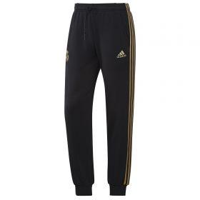 Real Madrid Training Sweat Pants - Black