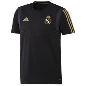 Real Madrid Training T-Shirt - Black