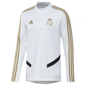 Real Madrid LS Training Top - White