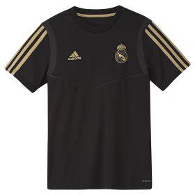 Real Madrid Training T-Shirt - Black - Kids