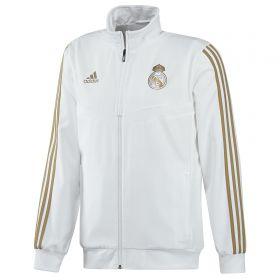 Real Madrid Presentation Jacket - White