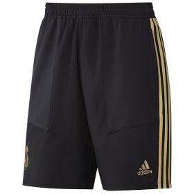 Real Madrid Training Woven Shorts - Black