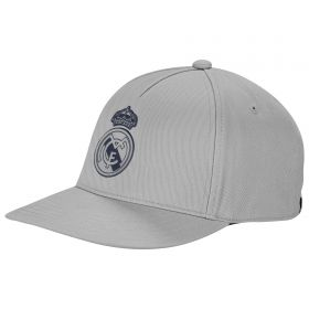 Real Madrid Fans Cap - White
