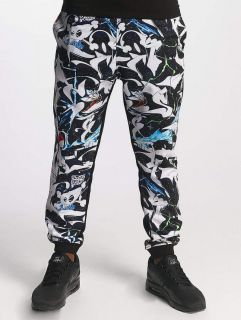 Dangerous DNGRS / Sweat Pant SKIM Outaspace in black