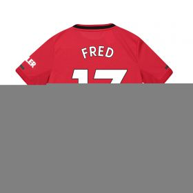 Manchester United Home Shirt 2019 - 20 - Kids with Fred 17 printing