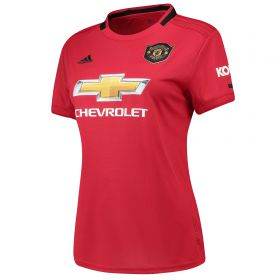 Manchester United Home Shirt 2019 - 20 - Womens with Pogba 6 printing